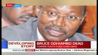 Bruce Odhiambo dead : Former Youth fund chair died at Nairobi Hospital