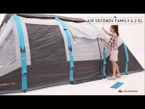 Quechua - Tenda Air Seconds Family 6 3 XL