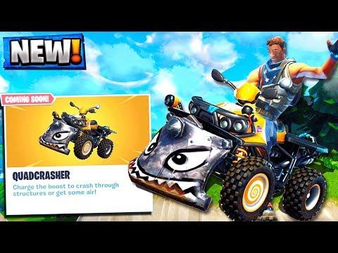 NEW QUADCRASHER ATV! NEW FORTNITE UPDATE SEASON 6!