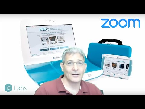 Deploying Zoom Based Telehealth 2 0 Carts, Kiosks, and Tablets
