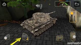 3D army war tank simulator HD android game review//