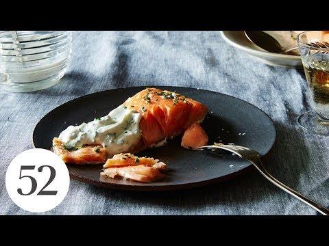 Sally Schneider's Slow-Roasted Salmon | Genius Recipes