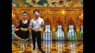 Lets do Cha Cha and Waltz || Tan Kidz