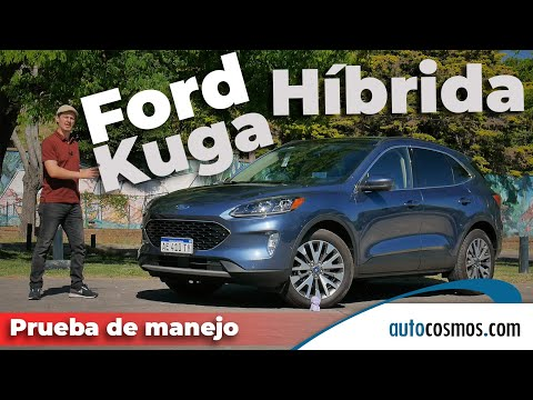 Test Ford Kuga Hybrid AWD