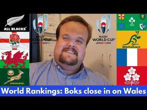 World Rugby Rankings: England & South Africa Rise