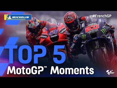 MotoGP 2021 第5戦フランス 決勝レースハイライト動画