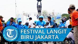Karnaval Jakarta Langit Biru dengan 470 Kendaraan Berbasis Listrik Dapatkan Rekor MURI