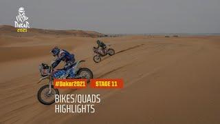 DAKAR2021 - Stage 11 - AlUla / Yanbu - Bike/Quad Highlights