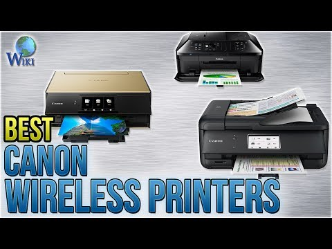 8 Best Canon Wireless Printers 2018