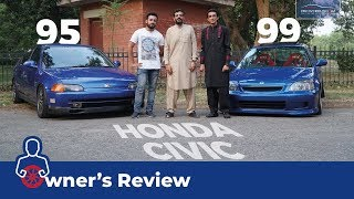 Honda Civic 1995 & 1999 Owner's Review: Price, Specs & Features | PakWheels