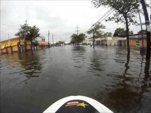 Jet-Skiing Through Your Hurricane-Ravaged Neighbourhood