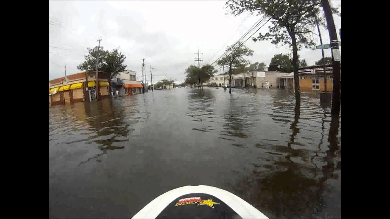Jet-Skiing Through Your Hurricane-Ravaged Neighbourhood