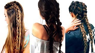 Long Hair Braids Tutorials Compilation | Amazing Hairstyles For Long Hair