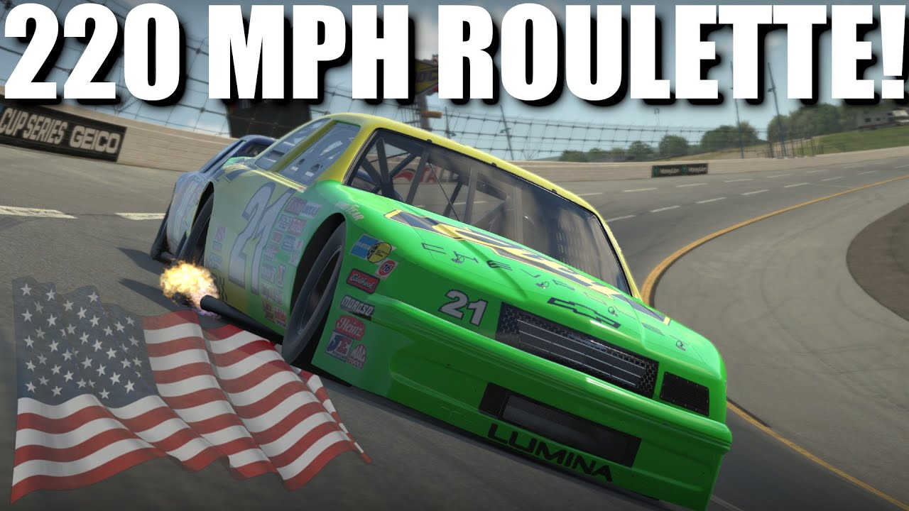 Dave Cam: iRacing top split racing and sliding at 200+ MPH!