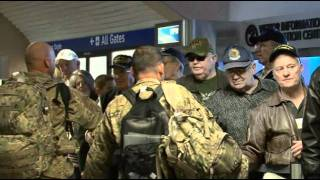 Troops At DFW Jan 26 2012