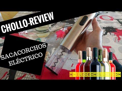 El mejor sacacorchos eléctrico al mejor precio - Chollo Review Kealive