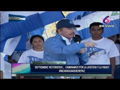 """Comandante Daniel a los Estados Unidos: """"respeten a Nicaragua como una nación soberana"""""""