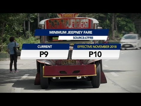 [UNTV]  LTFRB approves bus, jeepney fare increase
