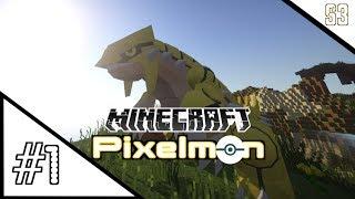 """Minecraft Pixelmon - """"HOSTILE BEGINNINGS"""" - (Minecraft Pokemon Mod) Part 1"""
