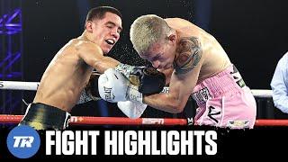 Oscar Valdez scores 3 knock downs, finishes Jayson Velez in the 10th | FULL FIGHT HIGHLIGHT