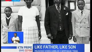 Muhoho Kenyatta's speech that caused a stir on social media