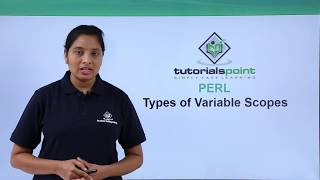 Perl   Types of Variable Scopes