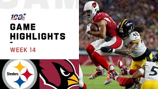 Steelers vs. Cardinals Week 14 Highlights   NFL 2019
