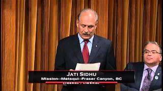 MP Jati Sidhu – Member's Statement 29/01/2016