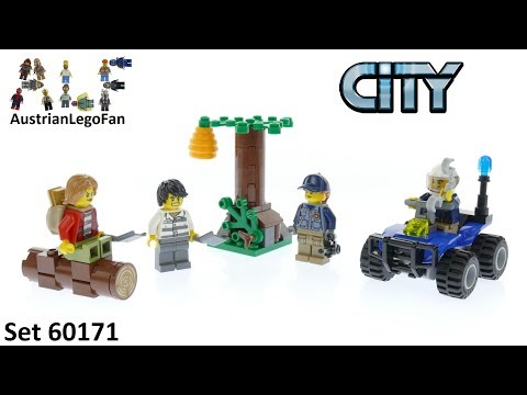 Vidéo LEGO City 60171 : L'évasion des bandits en montagne