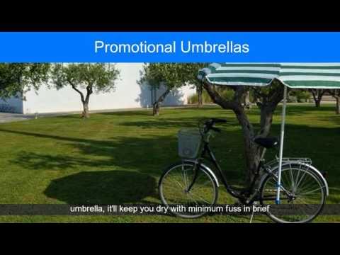 Video Printed Umbrellas No Minimum Order