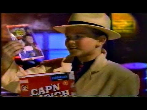 Cap'n Crunch Dick Tracy Commercial 1990