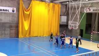 preview picture of video 'Partido Baloncesto Moraleja Christian Lambea'