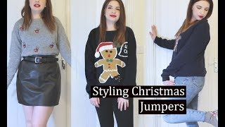 STYLING CHRISTMAS JUMPERS