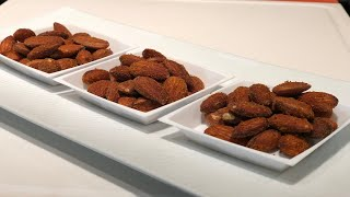 Masala Almonds - Perfect munchies | Show Me The Curry Appetizer Recipe
