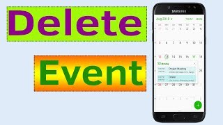 How To Delete S Planner Calendar Event On Samsung Galaxy Android Phone Helping Mind