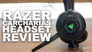 Razer Carcharias Gaming Headset Review / Test