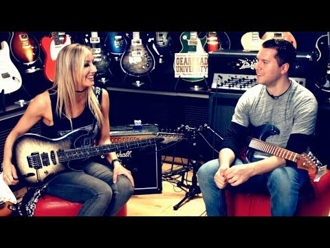 Nita Strauss, the Guitar Sorceress
