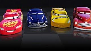Şimşek McQueen ve Örümcek Adam Arabalar 3 Oyunu Oynuyor