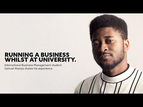 Running a Business Whilst at University | Student Samuel Shares his Experience