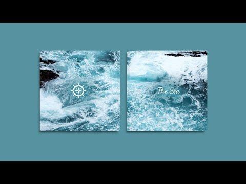 Inspiração para a capa do seu Ábum Digital - 'O mar'