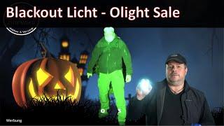 Blackout Licht Halloweensale Olight + Verlosung