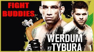 🔴 UFC FIGHT NIGHT WERDUM VS TYBURA LIVE REACTION!