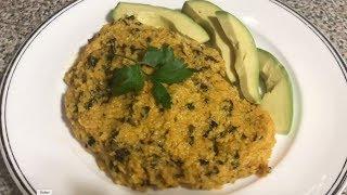 Mayi Moulin Ak Aranso | Cornmeal With Smoked Herring