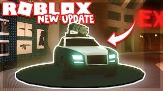 Update JailBreak!! Nowe auto i bronie!