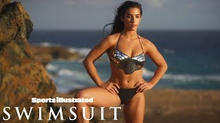 Aly Raisman Channels Her Inner Wonder Woman| CANDIDS | Sports Illustrated Swimsuit
