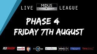 The MODUS ICONS OF DARTS LIVE LEAGUE - FRIDAY  7TH AUGUST