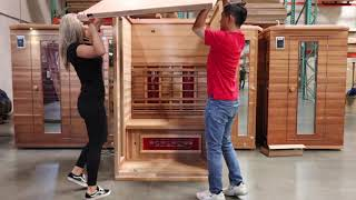 Health Mate Inspire Sauna Assembly