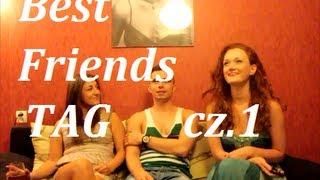 Best Friends TAG cz1. Basia, Jacek i Rudziuttka