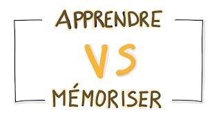 Apprendre vs Mémoriser, quelle différence ?