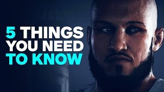 UFC 3 Career Mode Gameplay Details - 5 Things You Need to Know